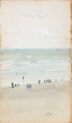 Painting: James McNeill Whistler, Green and Silver: The Three Clouds, 1885