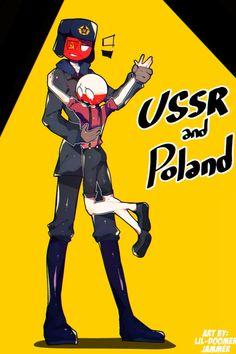 countryhumans : USSR x Poland - Dance with me Hetalia, Wattpad, Humans Meme, Mundo Comic, History Memes, Human Art, Country Art, Cool Countries, Soviet Union