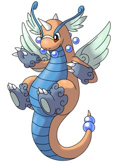 Mega Dragonite by AlphaXXI.deviantart.com on @deviantART