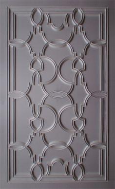 living room Plaster Patterned Ceiling Relief - PCR-016-PL