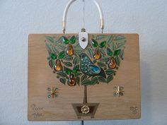 Enid Collins Pear Tree Purse
