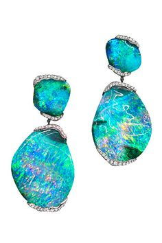 Mimi So Opal Earrings from ZoZo Collection