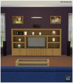 The Kahuna Entertainment Cabinet at Simista via Sims 4 Updates