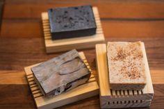 Goat's Milk Soap & Reclaimed Wood Soap Dish by CopperFoxFarm