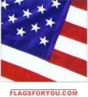 Stitched American Flag -US Made Nylon 3'x5'
