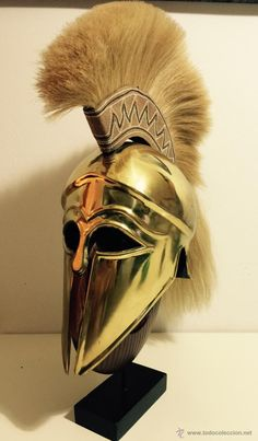 Spartan Warrior, Spartan Helmet, Ancient Greek Art, Ancient Greece, Athena Tattoo, Greek Helmet, Greek Soldier, Corinthian Helmet, Helmet Armor