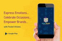 This festive season Send Greetings to your loved ones Express Emotions Celebrate Occasions Empower Brands with our newly developed Android App - Pocket Wishes - www.pocketwishes.com . . Link in first comment . . #greetings #app #android #pocketwishes #wishes #festival