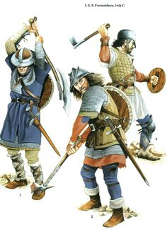 The Scottish and Welsh Wars 1250–1400 - Footsoldiers 14th C. Osprey Publishing