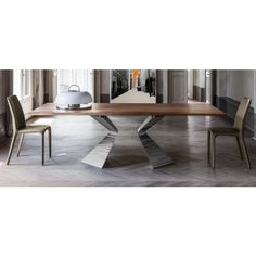 Prora is the fixed #table by @bonaldo design Mauro #Lipparini. Available in 4 sizes