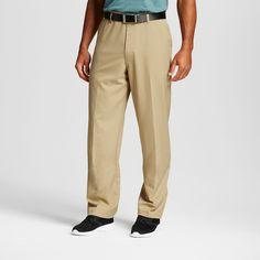 Men's Big & Tall Golf Pants Khaki (Green) 46x32 - C9 Champion