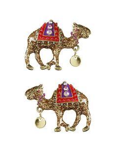 Piperlime | Camel Stud Earring