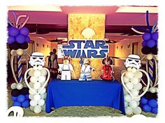 I dig the balloon stormtroopers here, could use that for decoration