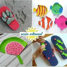 Atividade para as crianças no verão