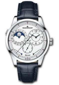 Jaeger-LeCoultre - Duometre Duometre Quantieme Lunaire 40.5mm Watch Q60435E1