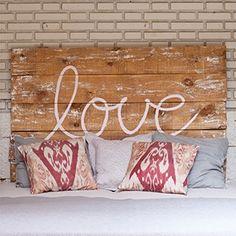 Tête de lit Love
