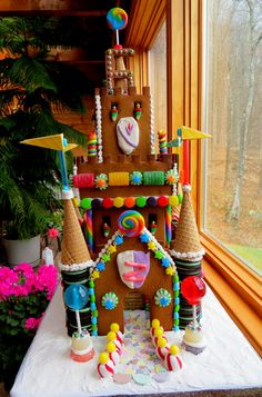 gingerbread house castle