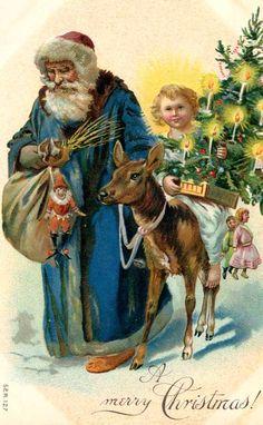 St. Nicholas bringing the Christ child
