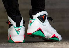 "Girls Air Jordan VII (7) Retro GS ""Verde"" Release Reminder For Today 03/14/15 -Price$140"