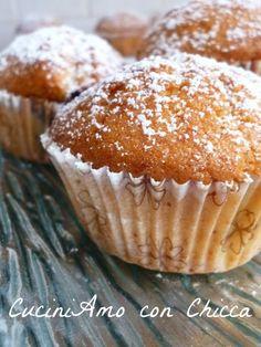 Oggi vi voglio presentare i Muffin con cuore di nutella facili e veloci pronti per essere divorati
