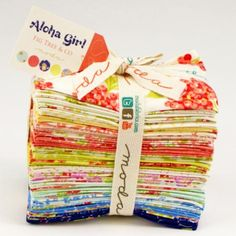 Aloha Girl Fat Eighth bundle by Joanna Figueroa for Moda, CentralFabrications
