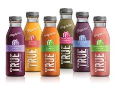 This Organic Juice Packaging Tells of the Family Who Grows the Crops #green #branding trendhunter.com