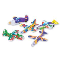 Mini Jet Gliders - 144 Per Pack, 2015 Amazon Top Rated Airplane Construction Kits #Toy