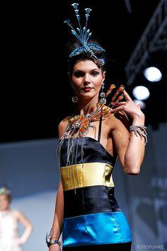 #fashionshow #fashion #jewellery #jewelery #sperky #moda #swarovski #madeinjablonec #czech Fashion Jewellery, Jewelery, Fashion Show, Swarovski, Wonder Woman, Superhero, How To Make, Women, Jewels
