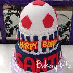 Soccer cake / pastel de fútbol Bakery 676 Ball cake