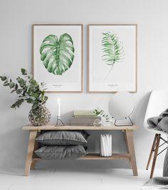 Stylish kitchen wall art.