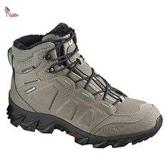 Salomon Elbrus WP Swamp Foncé Titanium Vert 46 - Chaussures salomon (*Partner-Link)