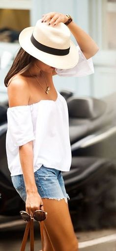 20+ Cute Summer Outfits with Hats