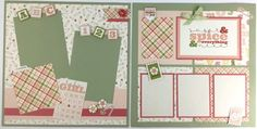 Your place to buy and sell all things handmade Baby Girl Scrapbook, Baby Scrapbook Pages, Scrapbook Paper Crafts, Scrapbook Layout Sketches, Scrapbooking Layouts, Memory Album, 6 Photos, Creative Memories, Layout Inspiration