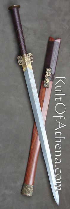 Chinese Han Dynasty Sword replica from Kult of Athena.