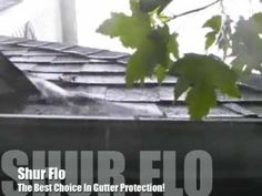 Shur Flo Gutter Guard - YouTube