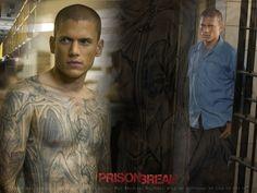 Prison Break- Wentworth Miller- youre super attractive! Jens board  | tattoos picture prison break tattoo