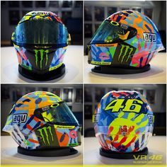 VR 46 THE 5000 POINTS HELMET