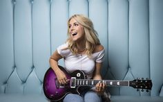 Download imagens Lindsay Ell, cantora canadense, a música country, beleza, loira