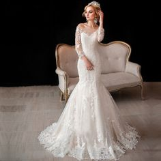 A Touch of Country Mermaid Gown :: Autumn Collection