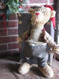 Christmas teddy bear.