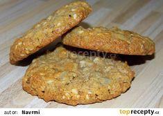 Ovesné sušenky II. recept - TopRecepty.cz Baked Potato, Banana Bread, Smoothies, Potatoes, Healthy Recipes, Cookies, Baking, Breakfast, Ethnic Recipes