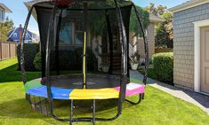 Klika: From $199 for a Kahuna 6ft Kids' Trampoline with Net or from $249 with Basketball Set