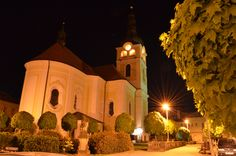 Church in the night by Adéla Kosová on Mansions, Night, House Styles, Photography, Home Decor, Photograph, Decoration Home, Room Decor, Fotografie