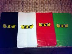 Ninjago Party Goody Bags