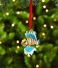dillards trimmings cloisonne 35 fish ornament dillards