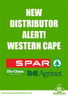 You can now find our products in the Western Cape Spar, Dischem and Agrinet outlets.  Drop us a note if you don't find it at your retail store or call us on 0860 995 233.