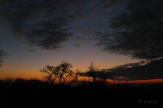 Raumfee: Winterhimmel - Sonnenuntergang in der Fränkischen Schweiz