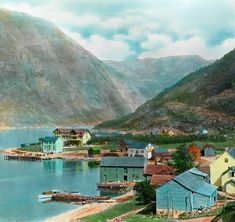 You'd have to be on drugs for Norway to look this colorful.