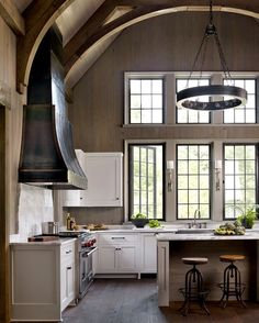 170+ Stylish Modern Kitchen Decorations for New Home or Renovation Check more at https://www.futuristarchitecture.com/1004-stylish-modern-kitchen.html