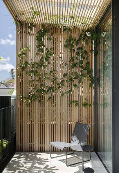 Another example of the shading of the upper deck. Mirror House, Woollahra – Secret G … – Screen The post Another example of the shading of the upper deck. Mirror House, Woollahra – Secret G appeared first on Woman Casual. House Design, Luxe Decor, Balcony Decor, Outdoor Space, Garden Architecture, Modern Patio, Pergola Designs, Mirror House, Modern Landscaping