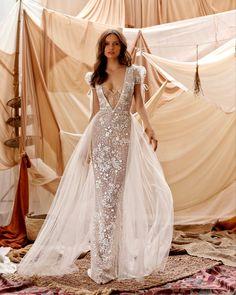 Unique Dresses, Beautiful Dresses, Bridal Dresses, Wedding Gowns, Lace Wedding, Muse By Berta, Berta Bridal, Gorgeous Wedding Dress, Boho Bride